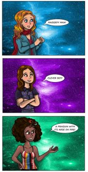 DW : How do you call the Doctor ? by Campanita42