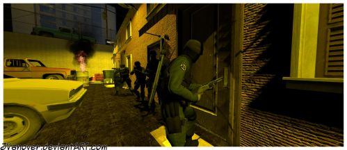 SWAT Attack by JVanover