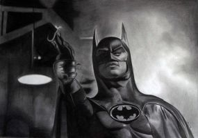 Michael Keaton Batman by donchild