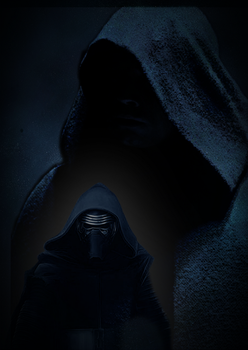 Luke Skywalker and Kylo Ren by natestarke