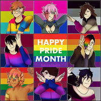 HAPPY PRIDE MONTH by Emselada