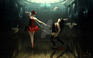 Bloody ballet by AdriaticaCreation