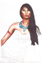 Wip Pocahontas by Dry89