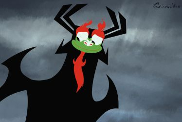 Aku Expressions: something warm inside by GrievousAlien