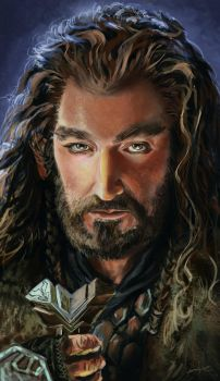 The Hobbit: The Unexpected Journey - Thorin by maxvu88