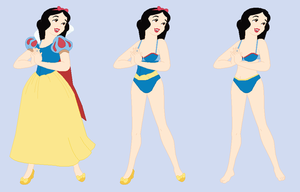 Snow White-  Wreck-It Ralph RP Fantasy outfits by Dinalfos5
