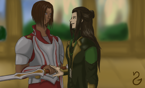 31 Days of OTP AUs - Day 29: Thor by Seyary