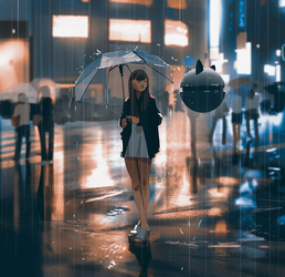 Rainy day by snatti89