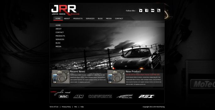 John Reed Racing - Home by hybrid-underground