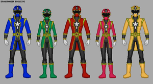 Power Rangers Warriors Legacy by Gekiblack
