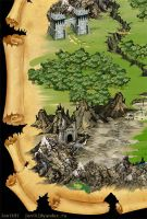 Map for RPG game. by Jonik9i