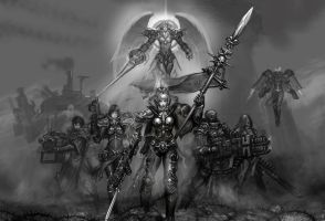 Sisters of Battle-0 by hoxiaowei
