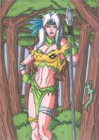 Savage Land Rogue by RobertMacQuarrie1