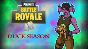 Fortnite BR Gorilla Huntress and Bryce Hound by LordMaru4U