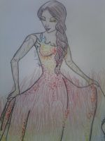 Katniss, Interview Dress by NathanExplosion89