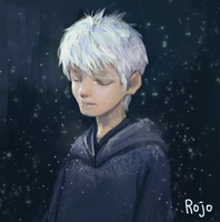 Jack Frost from Rise of the guardian by rojo0110