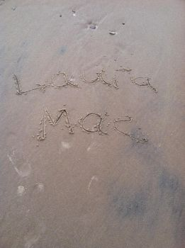 Name in the sand. by Historygirl1863