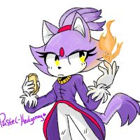 Project Blaze the cat by Pastel-Hedgehog