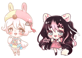 C: Cheebs for SoulBeater and ShadowKitty777 by Valyriana