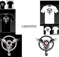 Caduceus in gears....concept by HappyTry