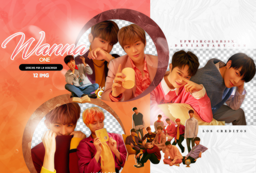 WANNA ONE PNG PACK #7/I PROMISE YOU PART.1 by Upwishcolorssx