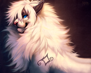 The White Majestic by falvie