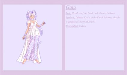 Gaia Character Sheet by Osabu-San