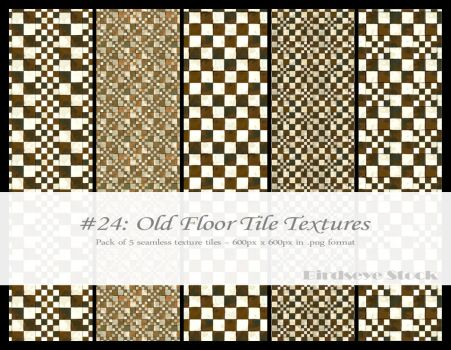 Old Floor Tile Textures by BirdseyeStock
