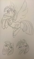 Twilight Sketches by PegaSisters82