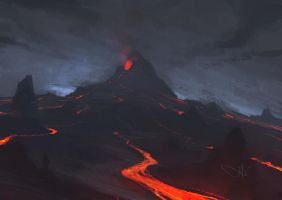 Red Mountain by Hieronymus7Z