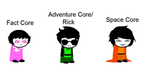 Corrupted Cores - Homestuck Forms by Noulin123