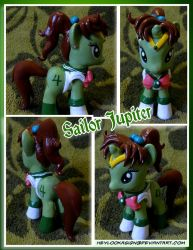 Sailor Jupiter Pony Thunder Crash yo! by HeyLookASign