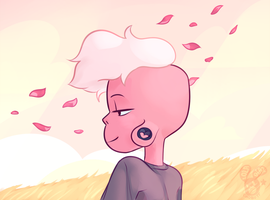 A Pink Paradise by Chobutt