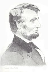 Abraham Lincoln by deeble-dabble