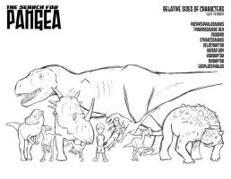 PANGEA size reference by CarbonComic