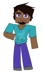 Minecraft's Steve is back everyone- by TurkBurg