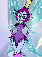 Star vs the Forces of Evil - Pixie Empress  by theEyZmaster
