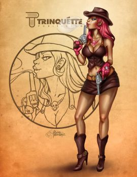 The Cowgirl by zkne