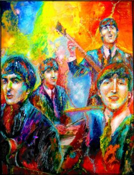 The Beatles by Beatles74i0c