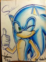 Sonic Portrait by SWAG-Daddy