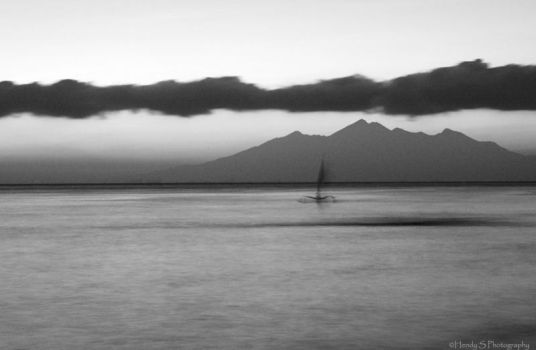 Lonely Boat by silentview