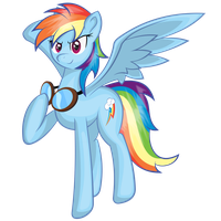 Bada$$ Rainbow Dash by EROCKERTORRES