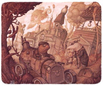 The Steam in the Willows by Felideus