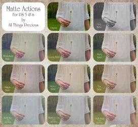 ATP Matte Actions Set. by AllThingsPrecious