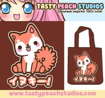 Inukii Tote Bag Design by MoogleGurl