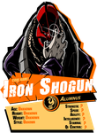 Bully Eater Charater REPORT CARD: Iron Shogun by BullyEater