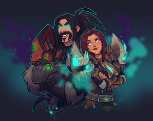 Commission: Staniel and Berniice by GalooGameLady