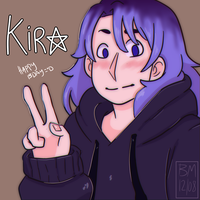 [+Speedpaint Link] HAPPY BORN DAY KIRA! by BabyMallows