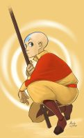Aang by manee-sketch