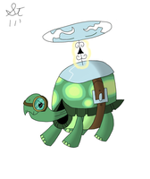 Tank the Tortoise by TenshiHoshino